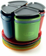 Campinggeschirr GSI  Infinity 4 person compact tableset- multicolor
