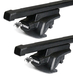 Dachträger Thule mit SquareBar RENAULT Clio III 5-T kombi Dachreling 07-12