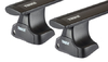 Dachträger Thule mit WingBar Black BMW 5-series Touring 5-T kombi Normales Dach 04-10