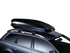 Dachträger Thule mit WingBar BMW X5 5-T SUV Dachreling 07-13