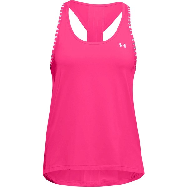 Damen Tank Top Under Armour Knockout Tank rosa
