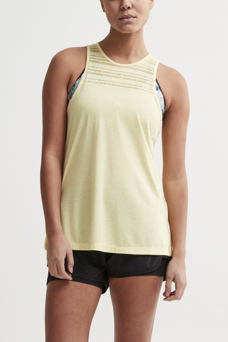 Damen Top Craft Charge Yellow