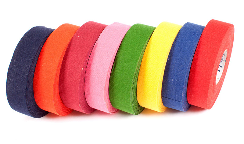 Eishockeytape ANDOVER COLORED Blue Sports 24 mm x 25 m
