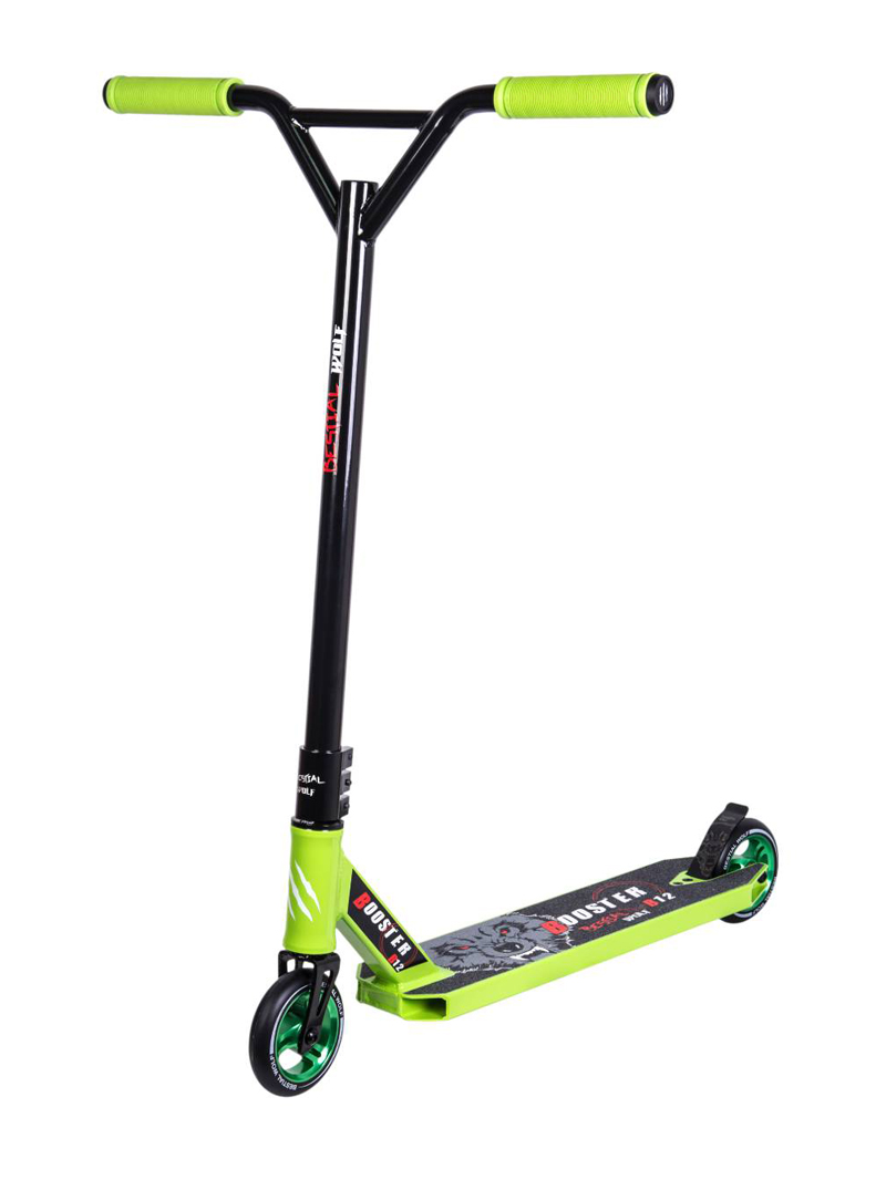 Freestyle Scooter Bestial Wolf Booster B12 Black-Green