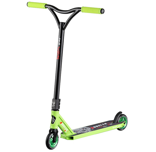 Freestyle Stunt-Scooter Bestial Wolf Booster B18 Green