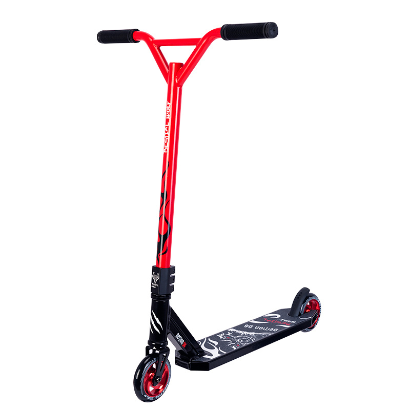 Freestyle Stunt-Scooter Bestial Wolf Demon D6 Black