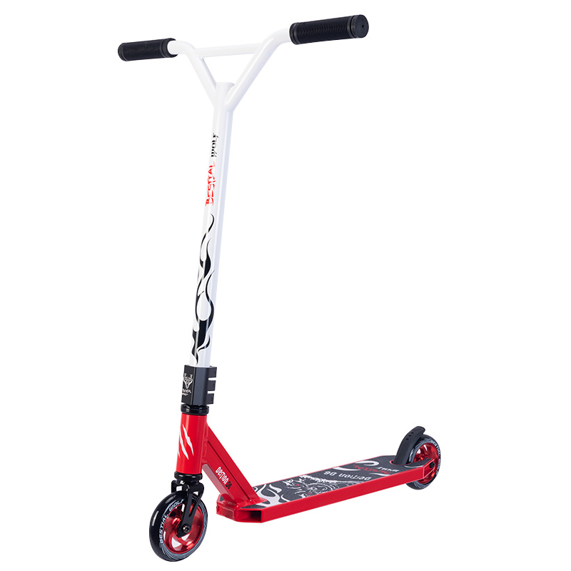 Freestyle Stunt-Scooter Bestial Wolf Demon D6 Red