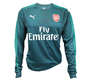 Goalkeeper Home Jersey Puma Arsenal FC 17/18 with the original signature of Petr Cech