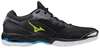 Herren Hallenschuhe Mizuno Wave Phantom 2 Black/White