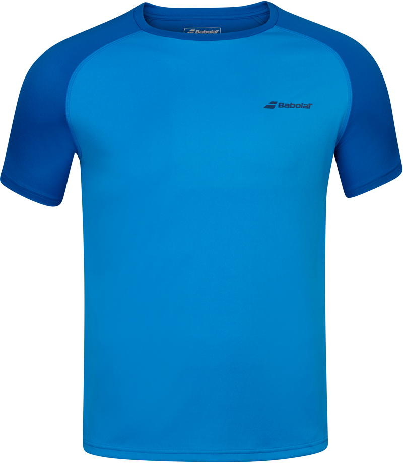 Herren T-Shirt Babolat Play Club Crew Neck Tee Blue