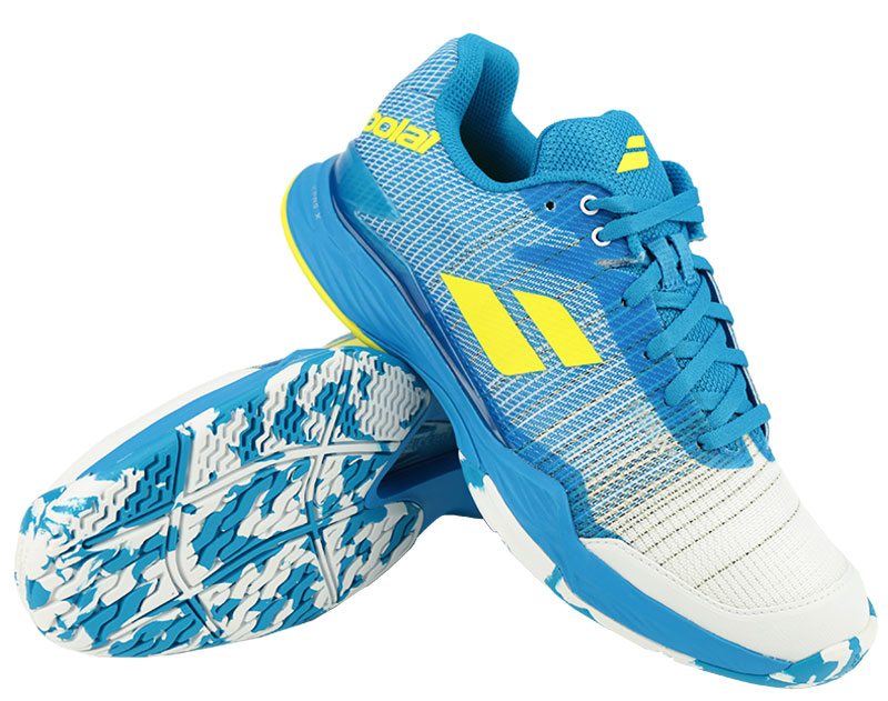 Herren Tennisschuhe Babolat Jet Mach II All Court Blue