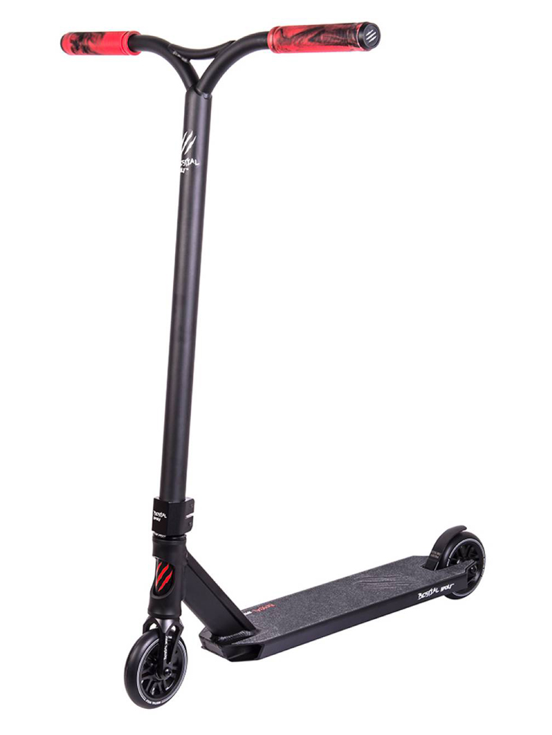 Freestyle Stunt-Scooter Bestial Wolf Booster R10 Black