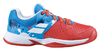 Junior Tennisschuhe Babolat Pulsion All Court JR Red/Blue