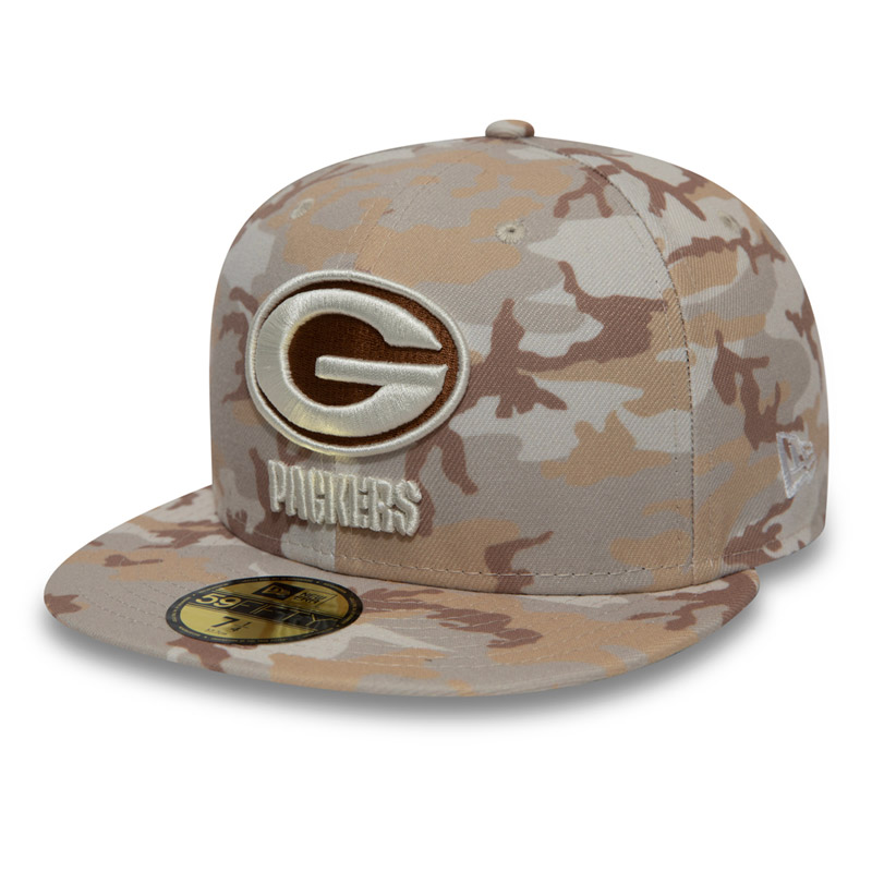 Kappe New Era 59Fifty Camo NFL Green Bay Packers