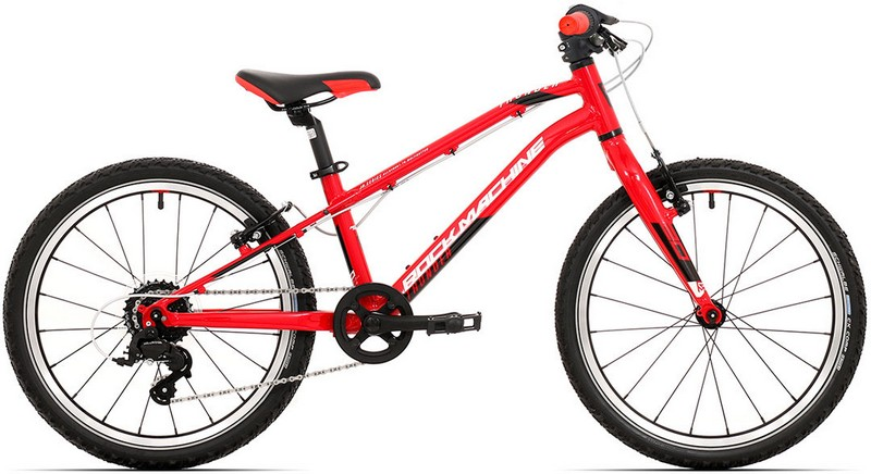 Kinder Fahrrad Rock Machine Thunder 20 VB 2021 Red