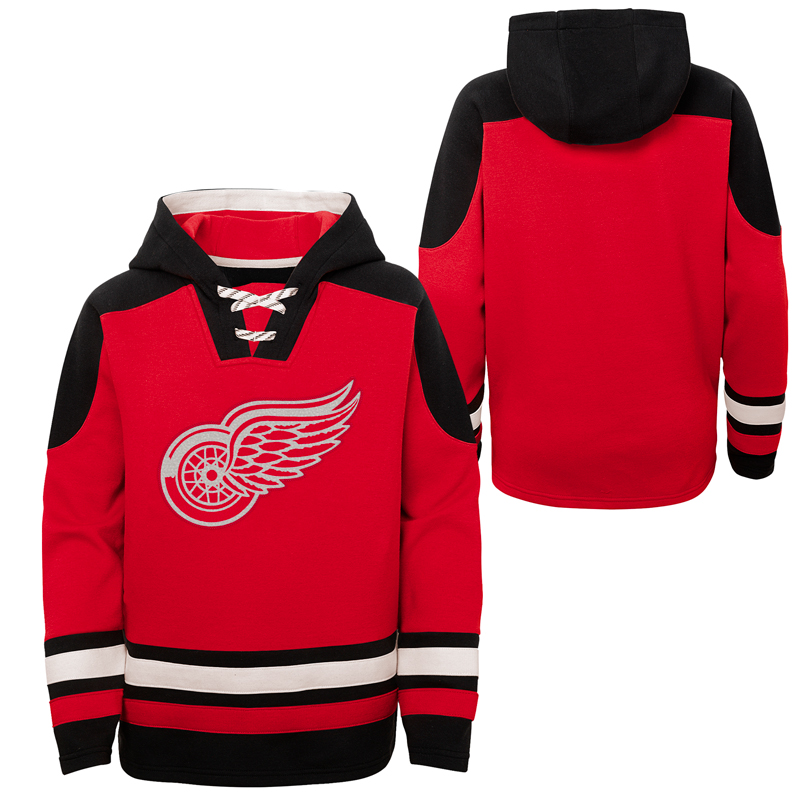 Kinder Hoodie Outerstuff Ageless must have NHL Detroit Red Wings