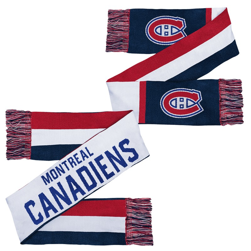 Kinder Scarf Outerstuff Combo Knit NHL Montreal Canadiens