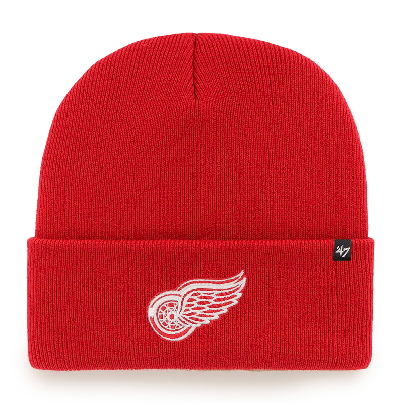 Mütze 47 Brand Haymaker Cuff Knit NHL Detroit Red Wings