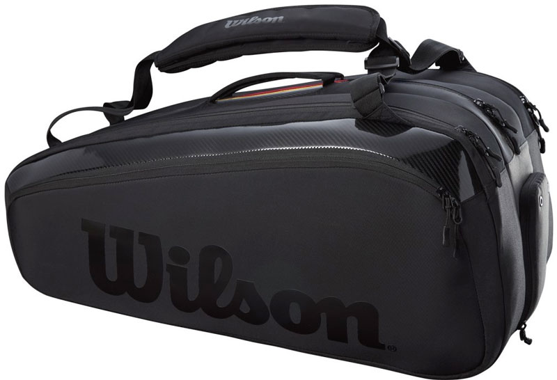 Schlägertasche Wilson Super Tour 15 Pack Pro Staff Black