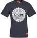 T-Shirt CCM Heritage Bottle Cap Chicago Fabric Tee SR